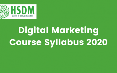 Digital Marketing Course Syllabus 2021 Download Curriculum PDF in India